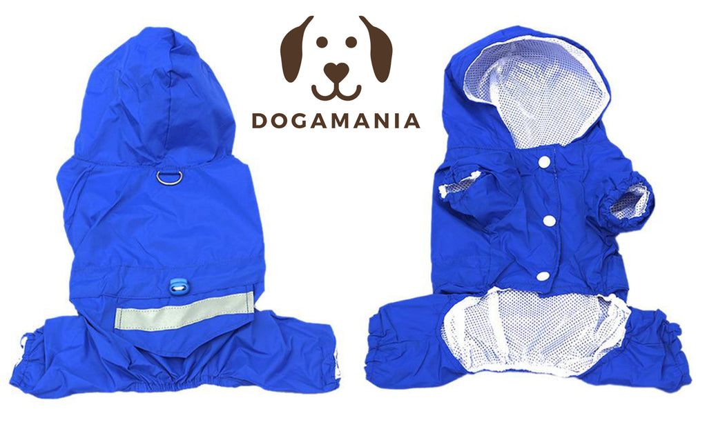 dog raincoat dog waterproof raincoat