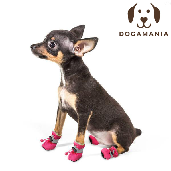 Dog Boots. Waterproof Winter Dog Shoes.
