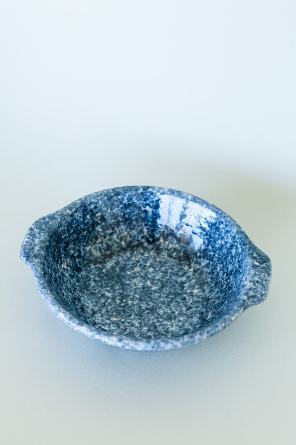 Speckled Blue Ceramic Bowl - Fallow Home.