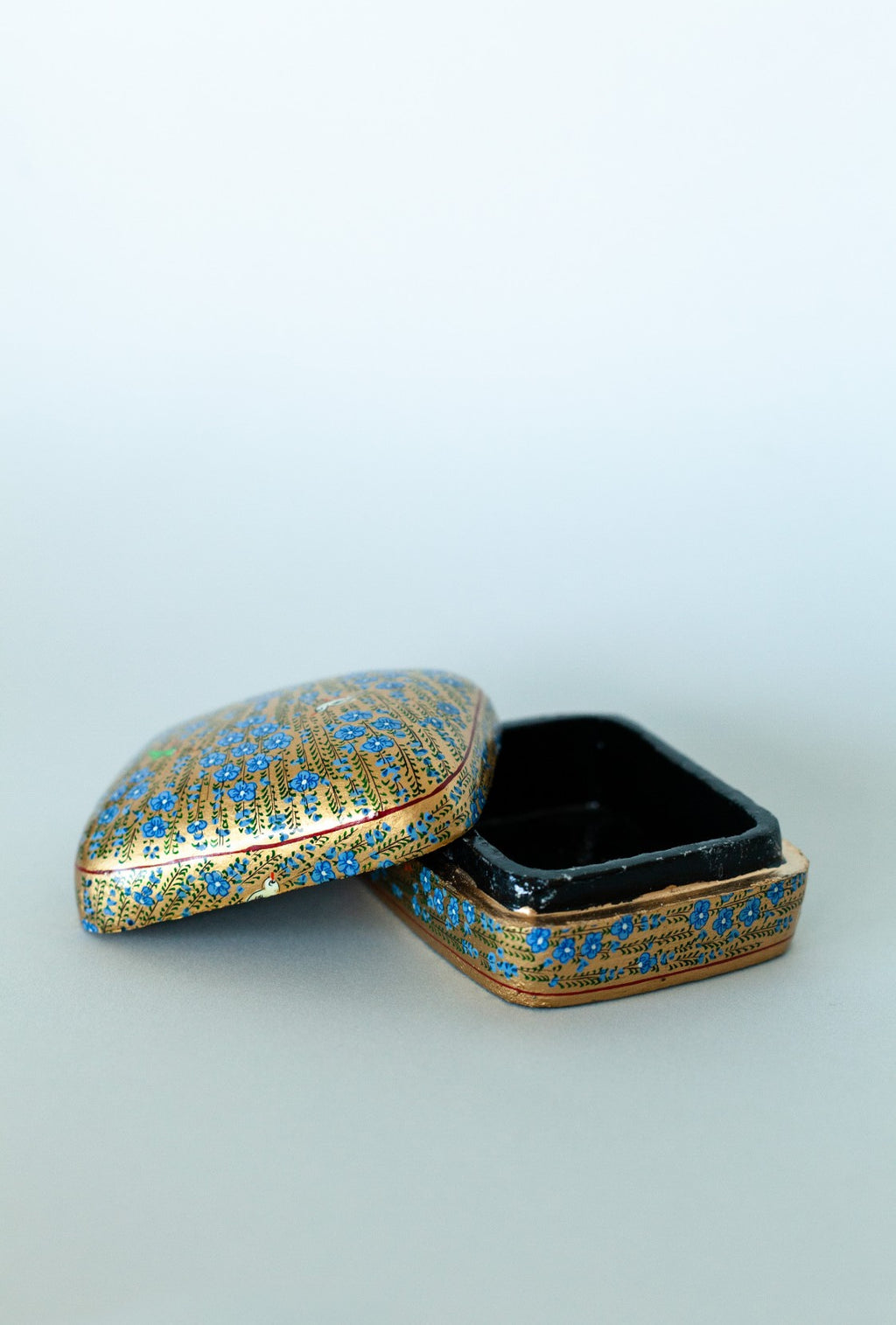 Small Floral Decorative Box - Fallow Home.