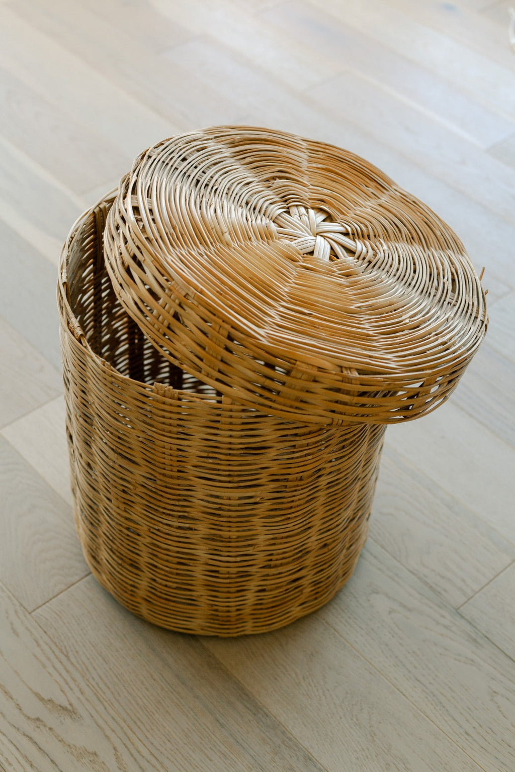 Woven Basket with Lid - Fallow Home.
