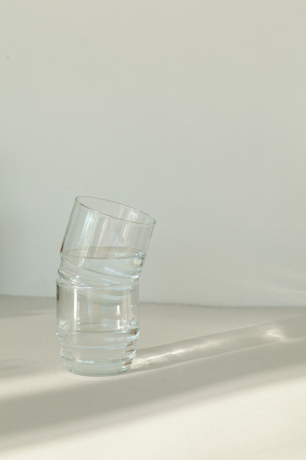 Set of Six Short Clear Glasses - Fallow Home.