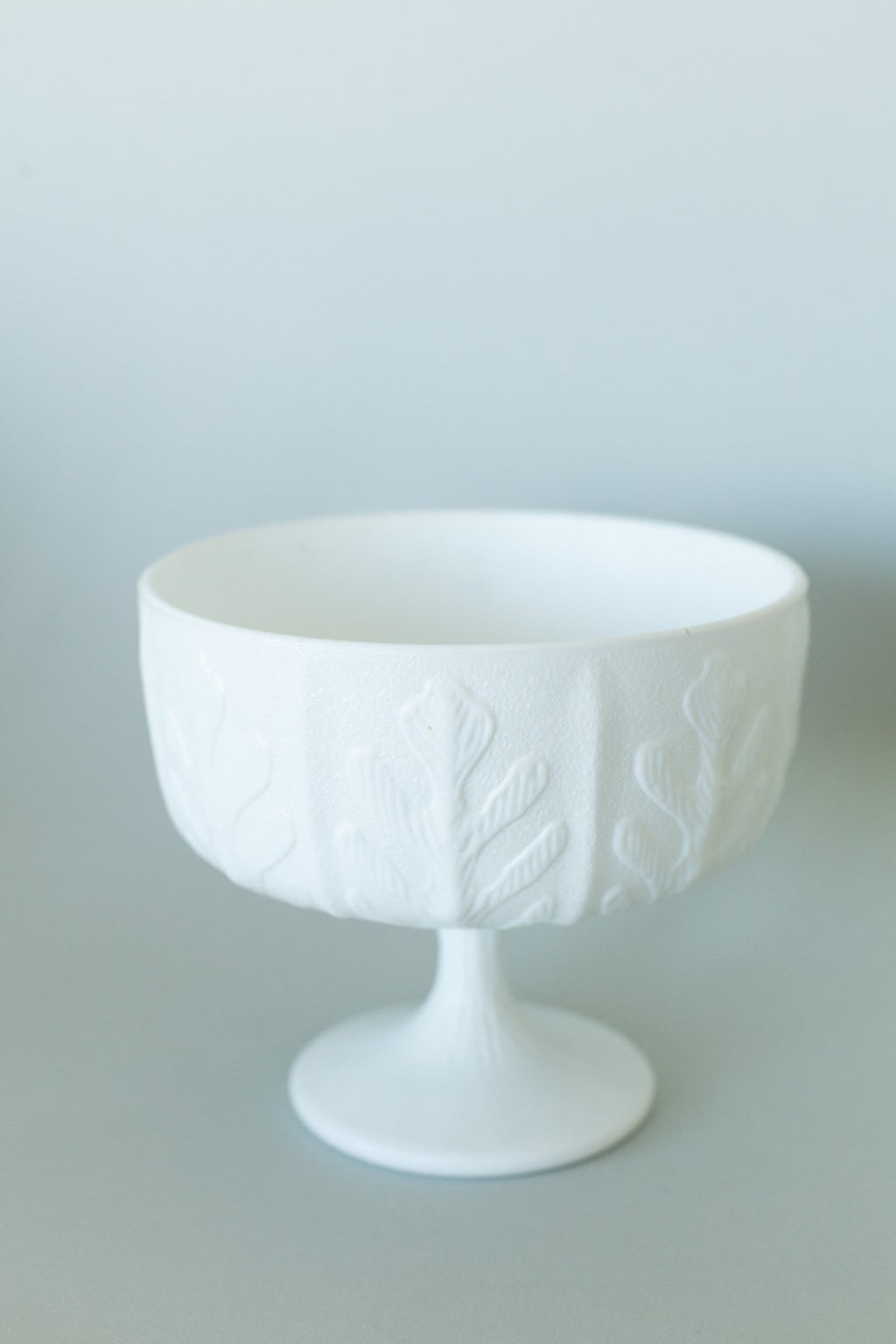 White Milk Glass Bowl - Fallow Home.