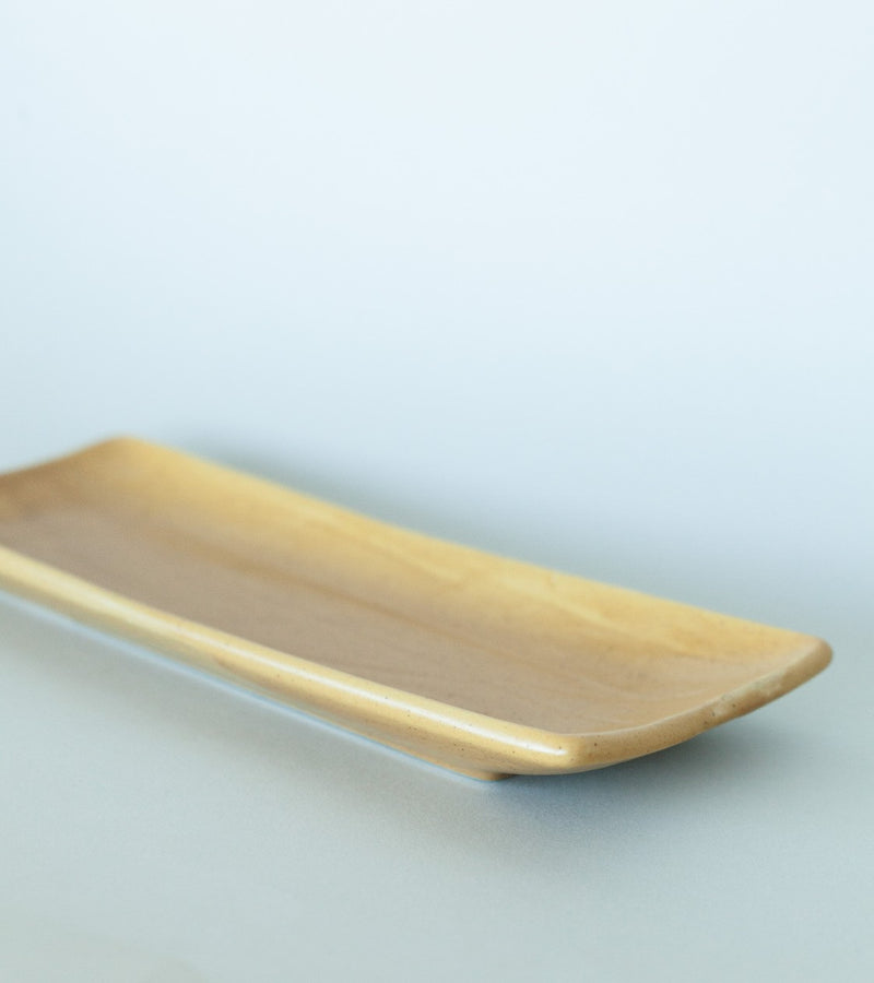 Mustard Ceramic Platter - Fallow Home.