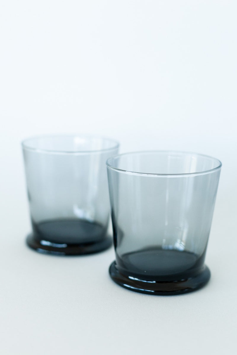 Set of Two Tinted Glasses - Fallow Home.