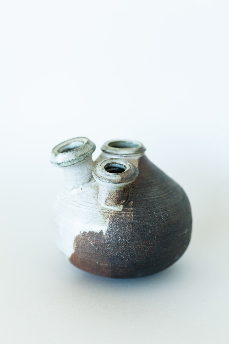 Handmade Ceramic Bud Vase - Fallow Home.