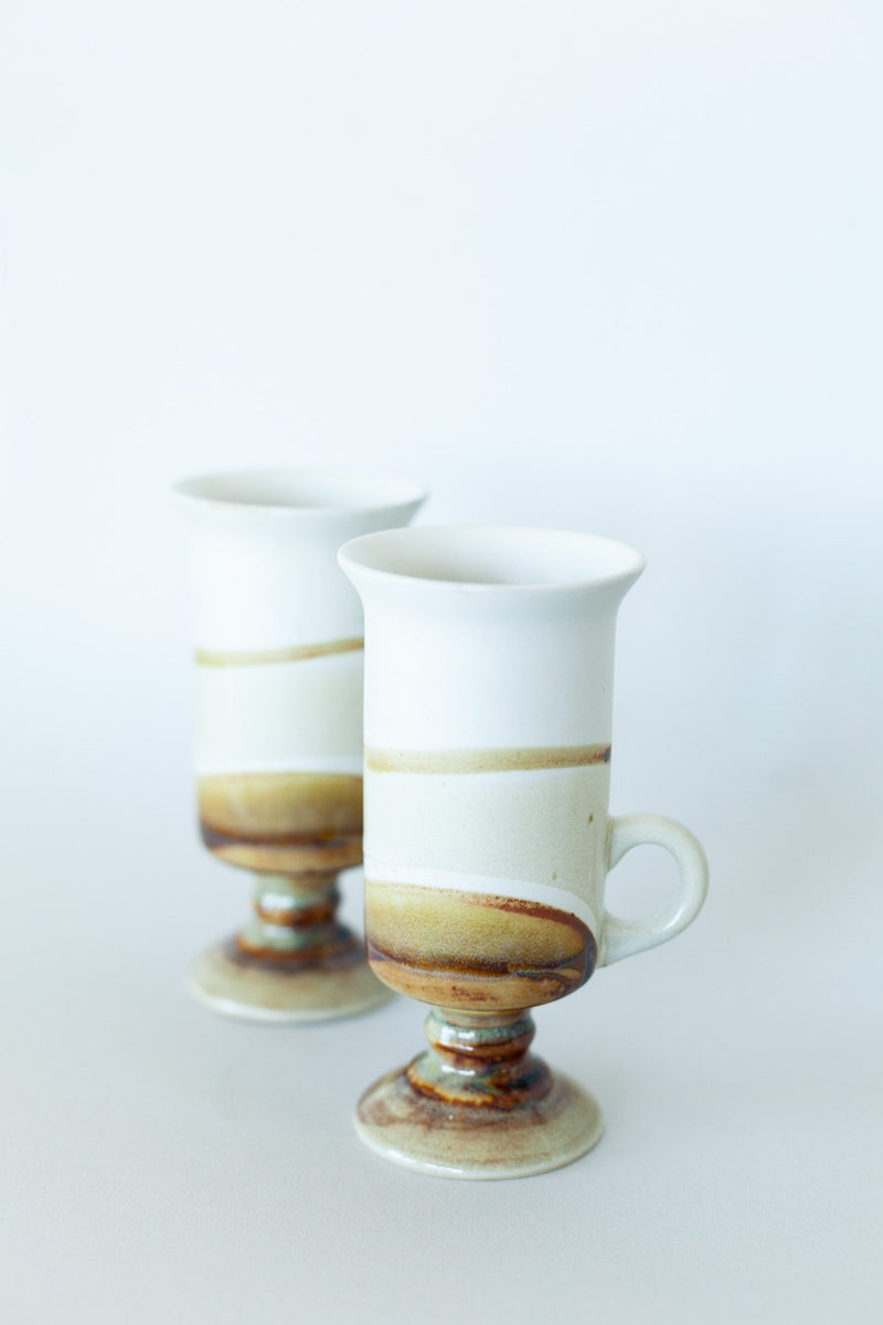 Set of 2 Tall Ceramic Mugs - Fallow Home.