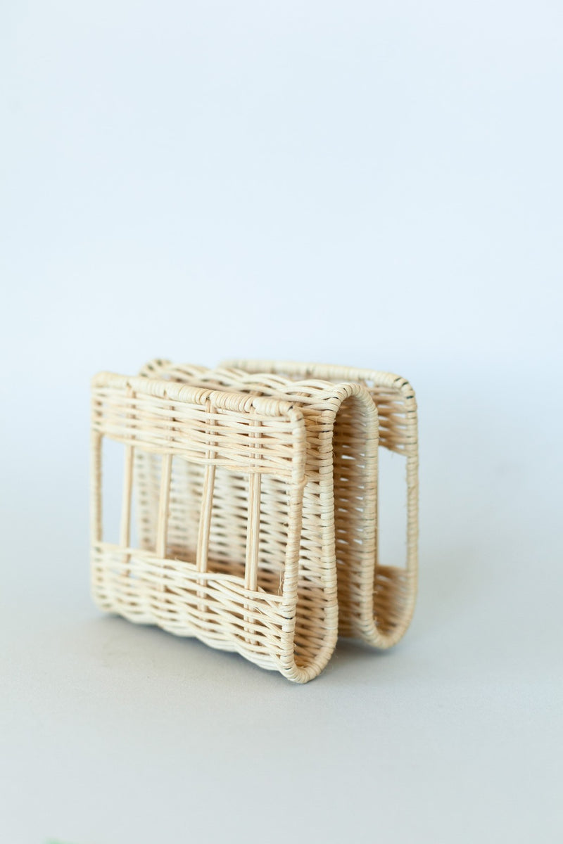 Rattan Napkin Holder - Fallow Home.
