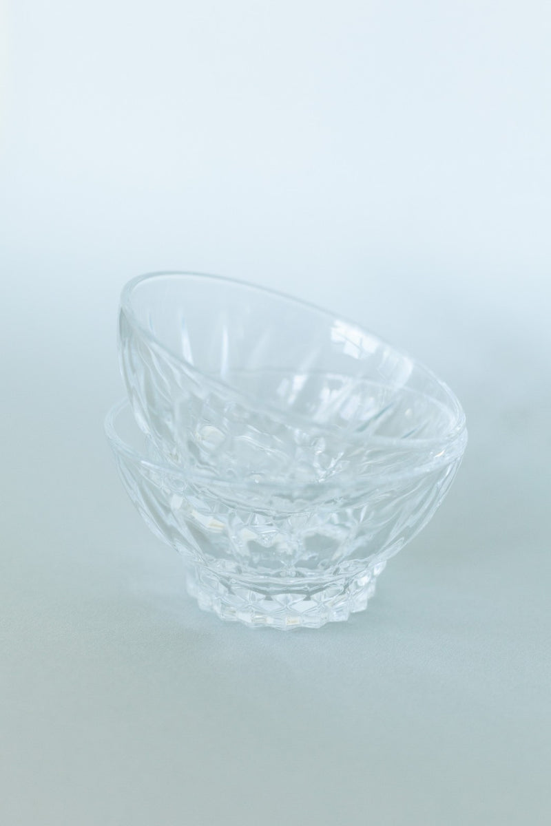 Set of 2 Small Glass Bowls - Fallow Home.