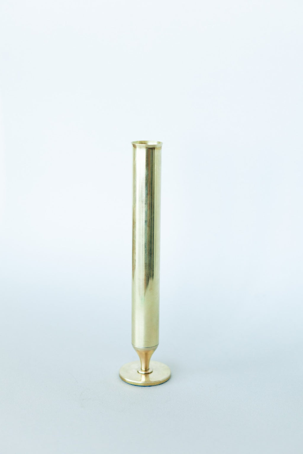 Brass Tube Vase - Fallow Home.