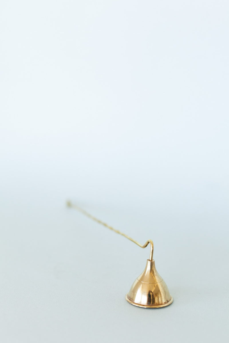 Brass Candle Snuffer - Fallow Home.