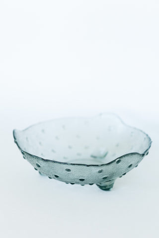 Speckled Blue Ceramic Bowl