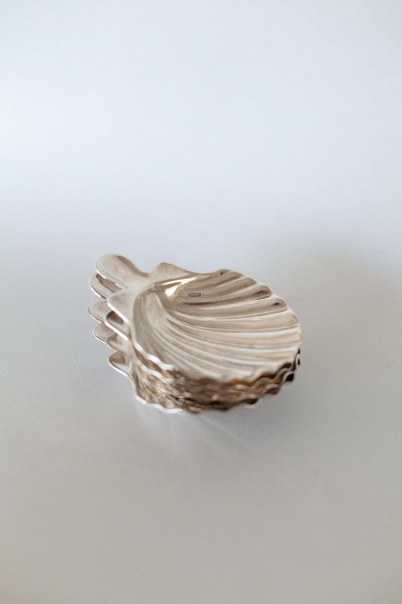 Small Silver Shell Tray - Fallow Home.