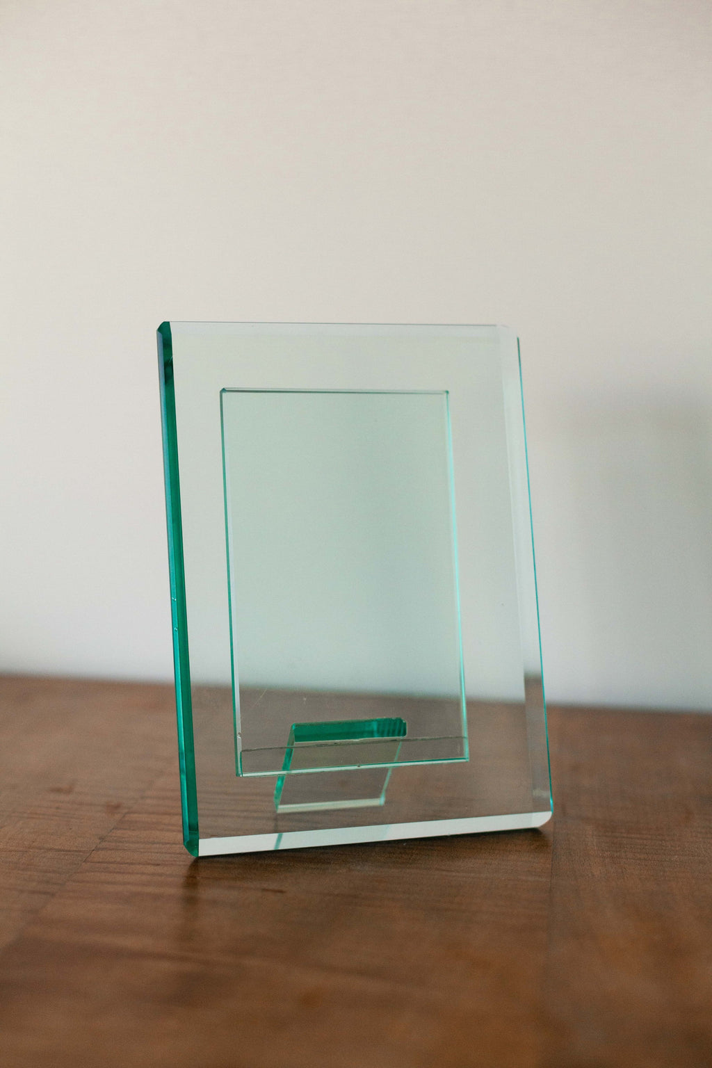 Tinted Green Glass Photo Frame - Fallow Home.