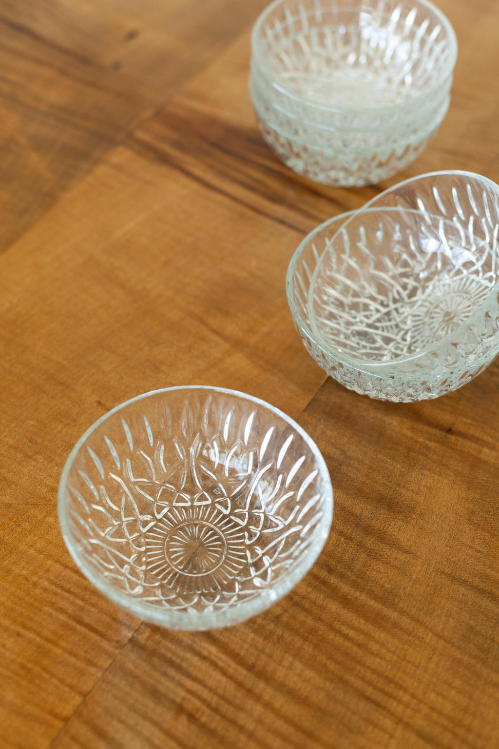 Small Glass Crystal  Bowls - Fallow Home.