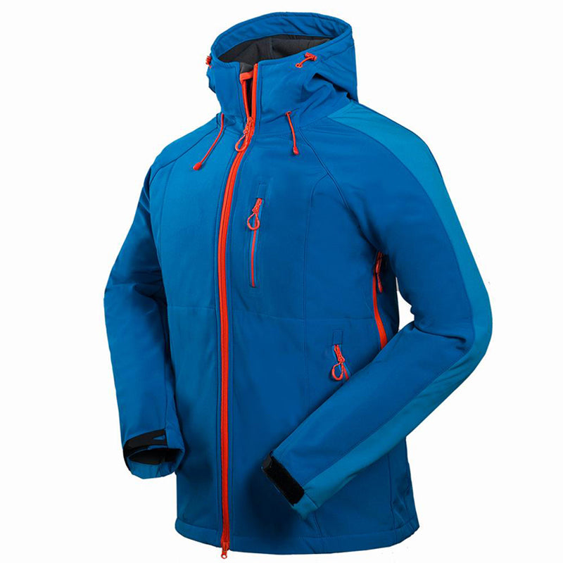 2017 Men's Hiking Jackets Softshell Jacket Men Outdoor Autumn Winter Sports Coats Waterproof Windproof Camping Ski Jacket RM091