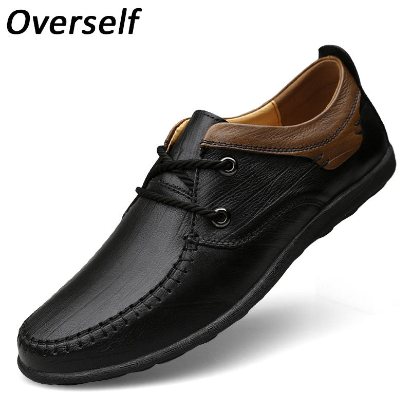 2017 New Handmade Men Formal Shoes Genuine Leather Luxury Brand Men's Dress Shoes High Quality Breathable Mens Shoes Brown Black