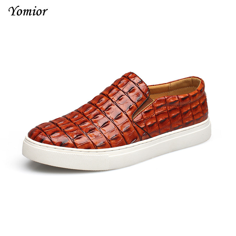 Yomior Fashion Mens Shoes Casual Zapatos Zapatillas Designer Walking Shoes Mens Dress Loafers Height Increasing Large Size 38-47