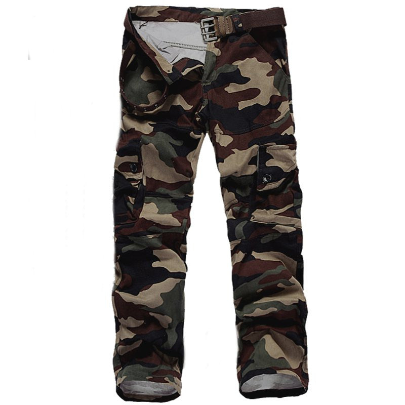 2017 Fashion Pantalon Homme Men Joggers Multi Army Cargo Pants Casual Tactical Pants Loose Baggy Long Trousers