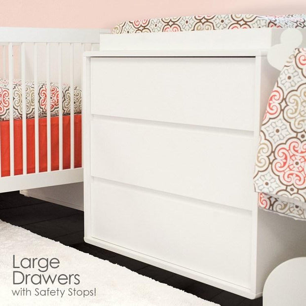 P'kolino Bianco Dresser in Milk White - Urban Stroller