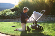 Joolz Hub Earth Cocoon in Hippo Grey - Urban Stroller