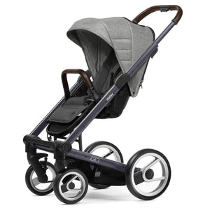 Mutsy Igo Heritage Dawn Stroller with Dark Grey Frame - Urban Stroller