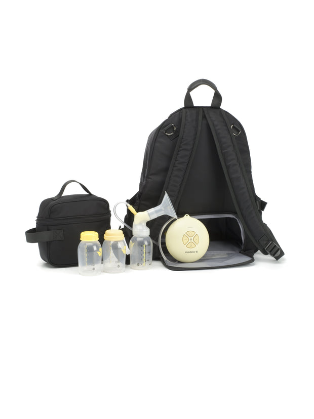 Storksak Hero Black Diaper Bag