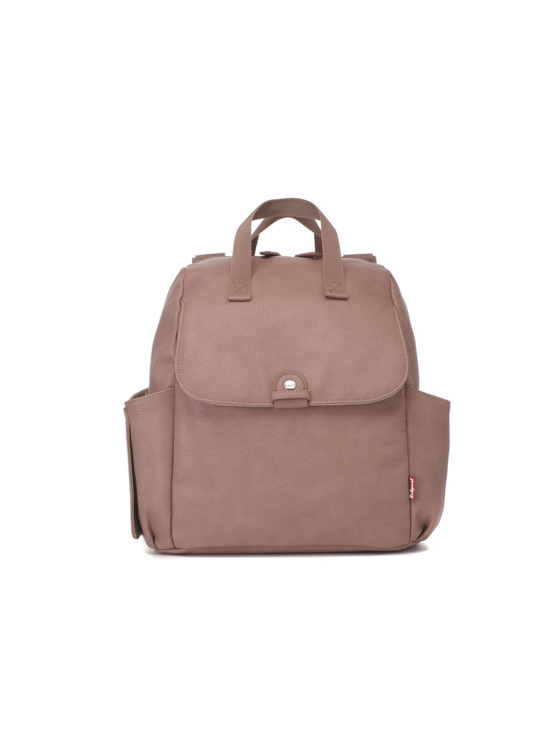 Babymel Robyn Convertible Backpack Faux Leather Dusty Pink - Urban Stroller