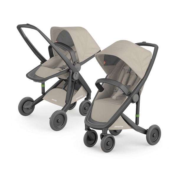 Greentom 2-in-1 Reversible & Classic with Black Frame - Urban Stroller