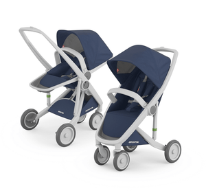 Greentom 2-in-1 Reversible & Classic with Grey Frame - Urban Stroller