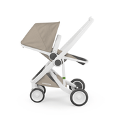 Greentom Reversible Stroller with White Frame - Urban Stroller