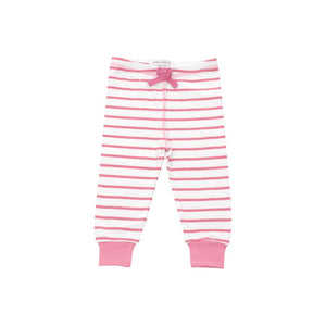 cozy pants in pink marseille stripe - Urban Stroller
