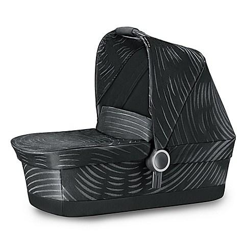GB Maris Plus Carrycot Bassinet in Lux Black - Urban Stroller