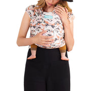 Moby Evolution Wrap Baby Carrier in Blooms - Urban Stroller