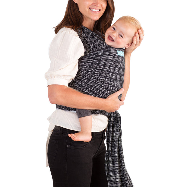 Moby Evolution Wrap Baby Carrier in Stitches - Urban Stroller
