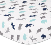 The Peanutshell Woodland Trail Crib Bedding Set - Urban Stroller
