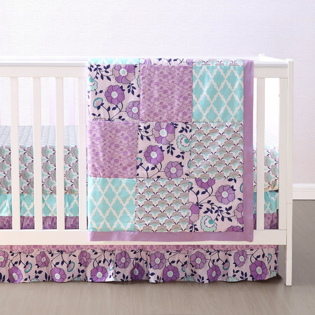 The Peanutshell Zoe Crib Bedding Set - Urban Stroller