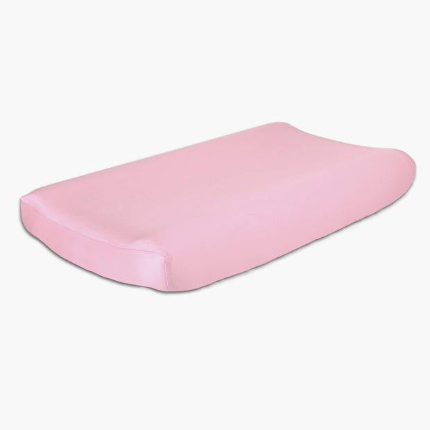 The Peanutshell Pink Changing Pad Cover - Urban Stroller