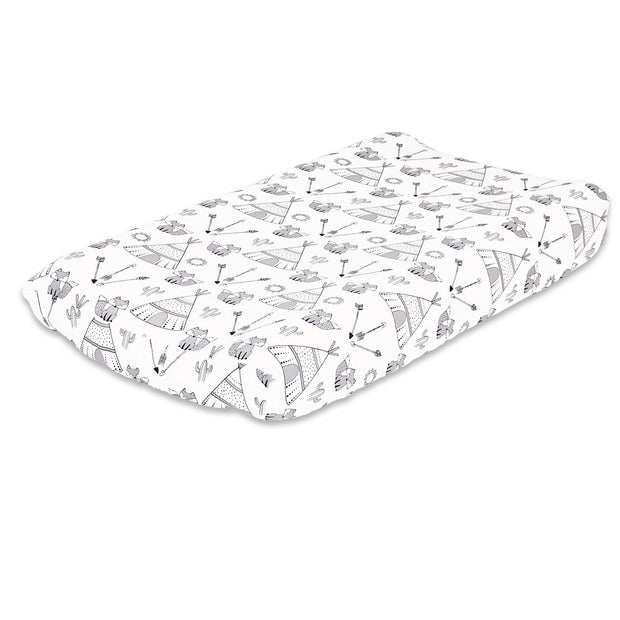 The Peanutshell Southwest Changing Pad Cover - Urban Stroller