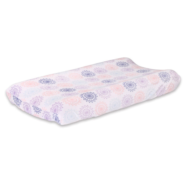 The Peanutshell Wildflower Changing Pad Cover - Urban Stroller