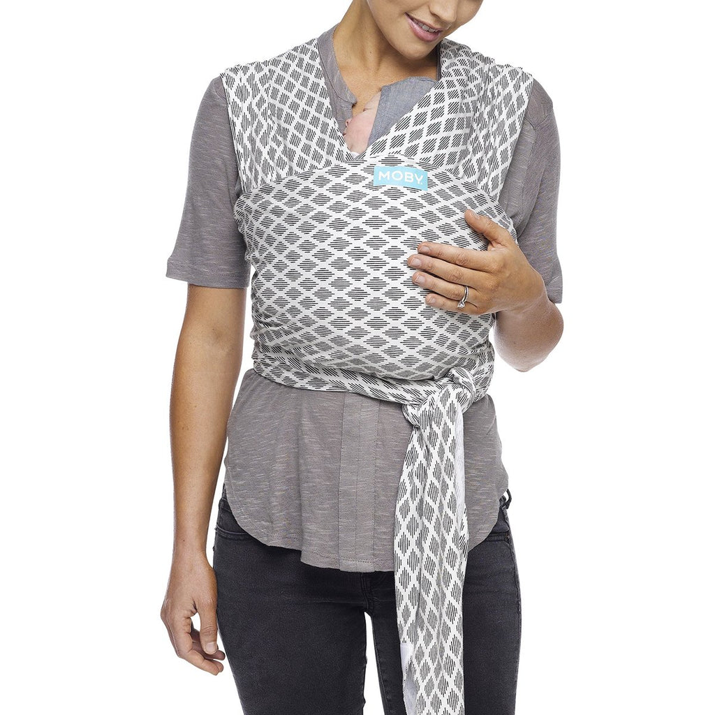 Moby Evolution Wrap Baby Carrier in Diamonds - Urban Stroller