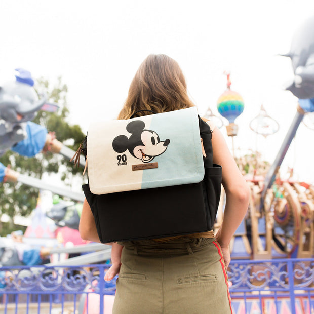 Petunia Pickle Bottom Boxy Backpack in Mickey's 90th