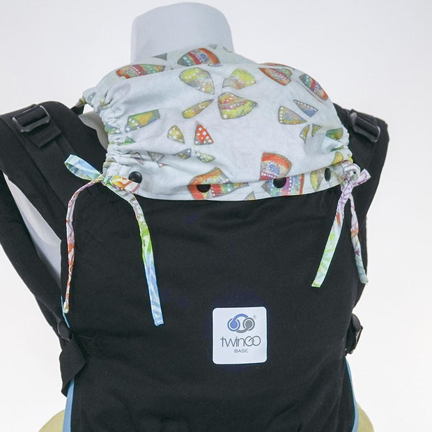 TwinGo Custom Hood Set with Rainbow Leaf - Urban Stroller
