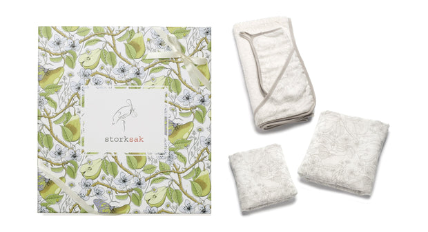 Storksak Bundle of Joy Gift Set in Garden Print - Urban Stroller