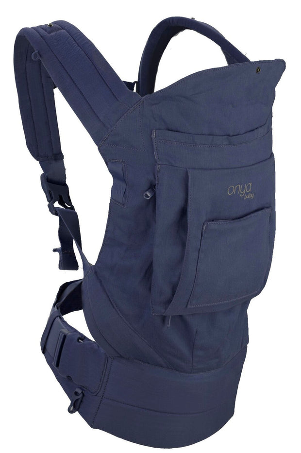 Onya Baby Cruiser Baby Carrier in Midnight - Urban Stroller