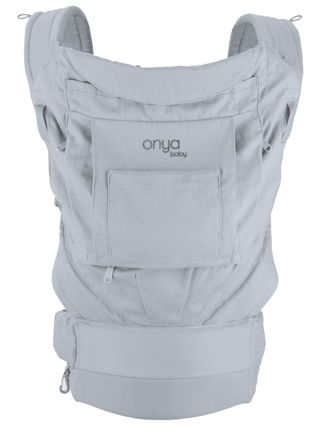 Onya Baby Cruiser Baby Carrier in Pearl Grey - Urban Stroller