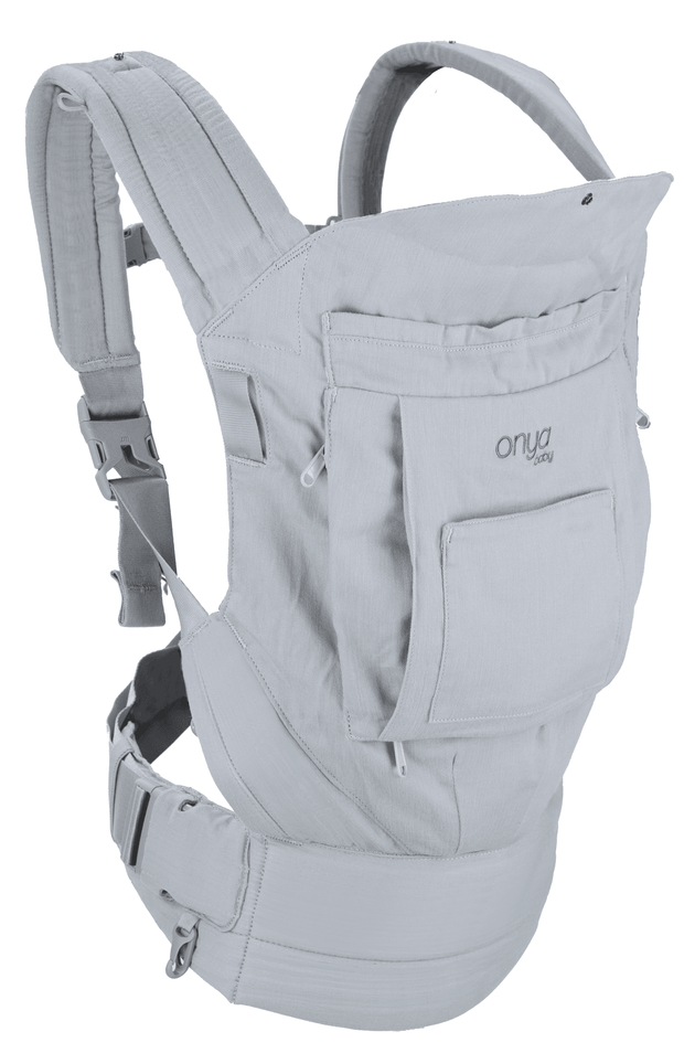 Onya Baby Cruiser Bundle Baby Carrier in Pearl Grey - Urban Stroller