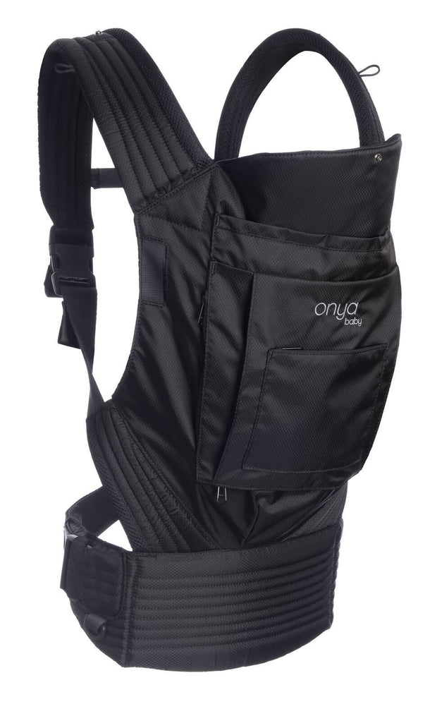 Onya Baby Outback Baby Carrier in Jet Black - Urban Stroller