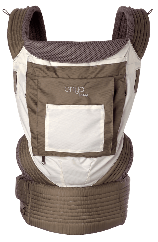 Onya Baby Outback Baby Carrier in Chocolate Chip & Ivory - Urban Stroller