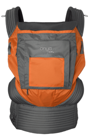 Onya Baby Outback Baby Carrier in Burnt Orange & Slate Grey - Urban Stroller